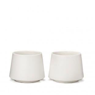 Tasses en céramiques  ( boîte de 2)