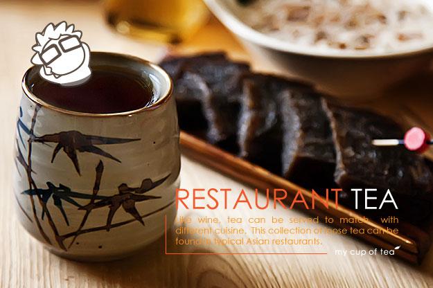 Restaurant Tea Image