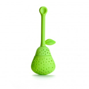 Pear shaped tea infuser - Green
