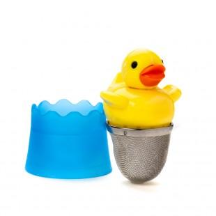 Floating duck tea infuser